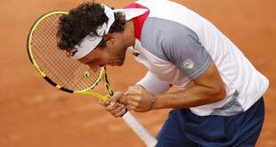 Tennis: Cecchinato vola in finale al Sardegna Open