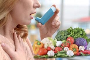 Frutta, verdura e fibre contro l'asma