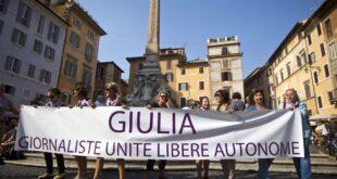 Giulia giornaliste a Cagliari contro la violenza