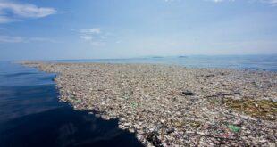 L'isola di rifiuti nel Pacifico