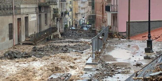 Il dolore e la disperazione per l'alluvione