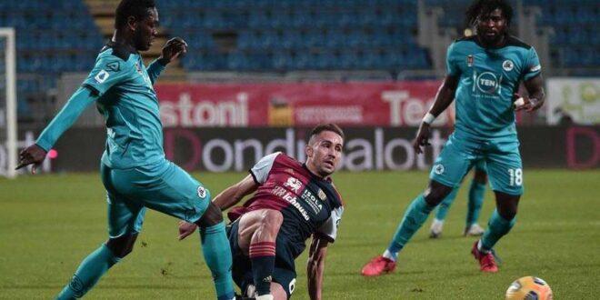 Cagliari-Spezia 2-2
