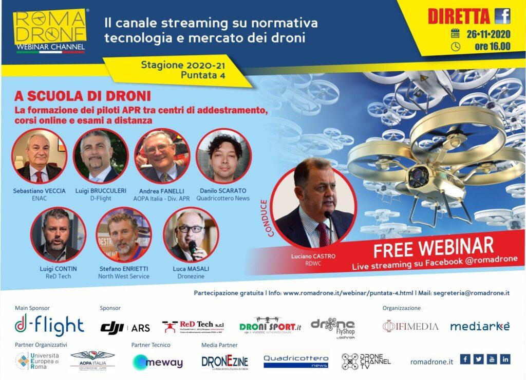 RDWC evento droni