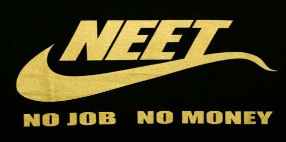 NEET: no job no money