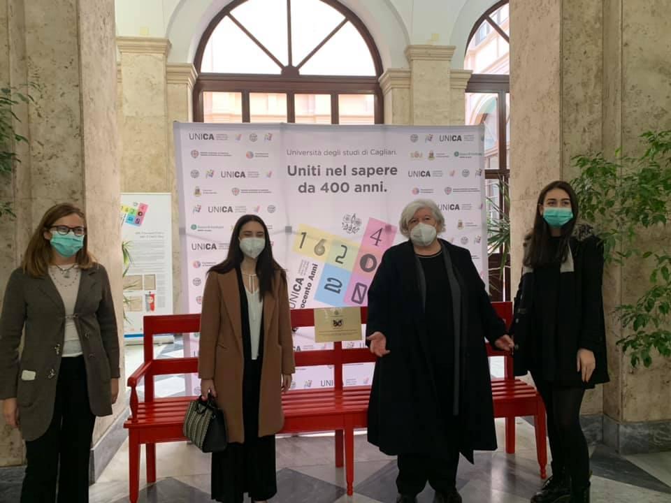 Panchina rossa: l'Università di Cagliari contro la violenza