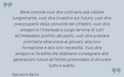 Smart Cityness - Citazione di Salvatore Settis