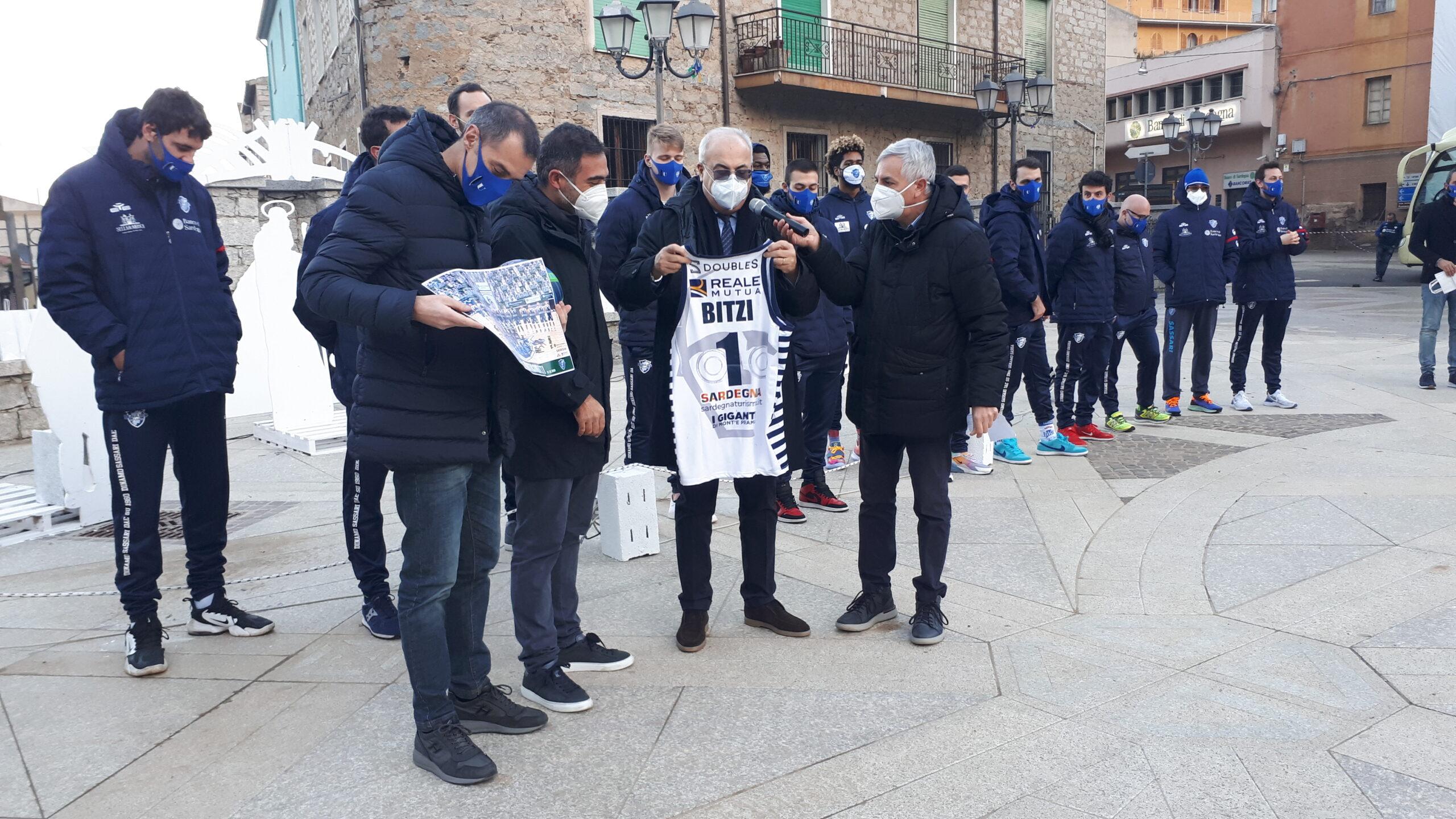 Bitti: visita della squadra Dinamo Sassari