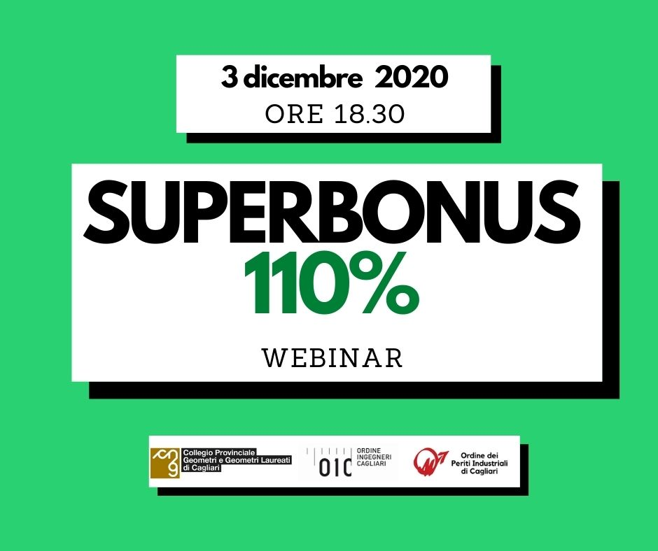 Superbonus 110%- webinar online