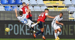 Vittoria in rimonta dell'Inter contro il Cagliari