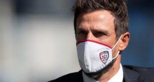 "Di Francesco: ""Sfida alla pari col Verona"""