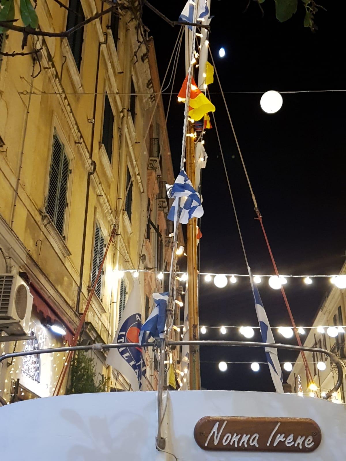 galleria Cavour - Vela latina in centro a Sassari