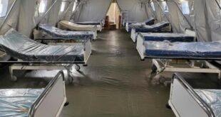 Nuoro: operativo ospedale da campo