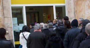 Poste Italiane: assembramento