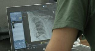 Esempio di radiologia domiciliare