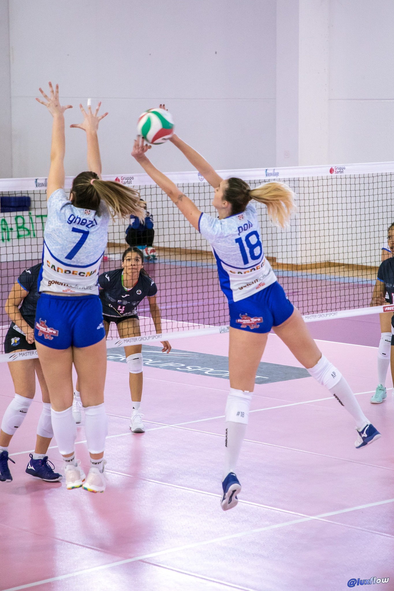 Martina Ghezzi e Aurora Poli Hermaea Olbia VS Cus Torino