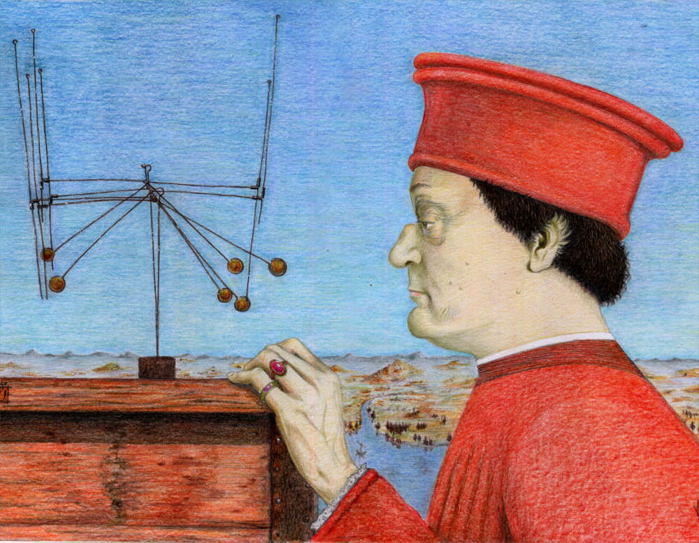 Federico da Montefeltro Gerrit Van Honthorst