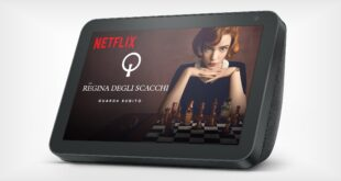 Netflix arriva anche su Amazon Echo Show