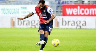 Il Cagliari in crisi: sotto media di un punto a partita