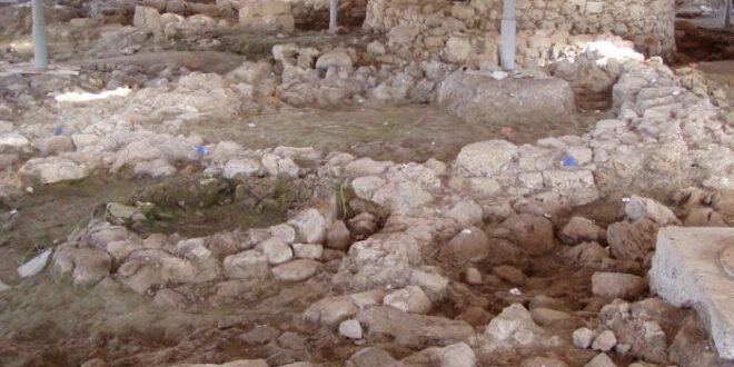 Capanne nuragiche allagate a Sant'Imbenia
