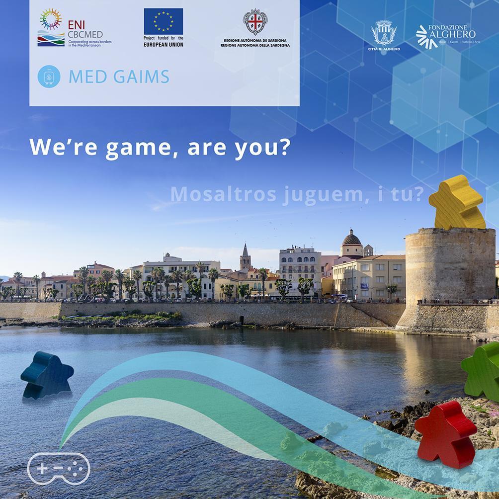 Alghero game designer MED GAIMS
