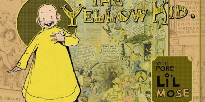 yellow kid fumetto vignetta