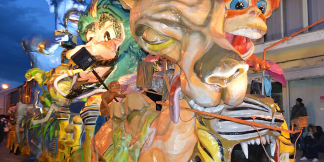 Carnevale San Gavino Monreale 2014