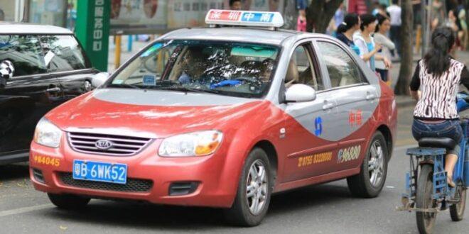 Taxi autonomi Shenzhen