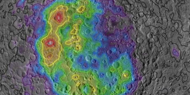 luna, cratere