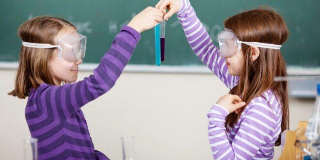 bambine scienziate