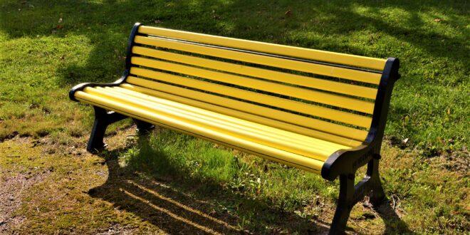 panchina gialla