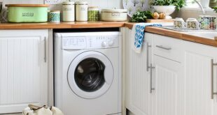 lavatrice e lavandino