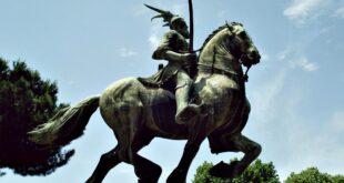 monumento scanderbeg