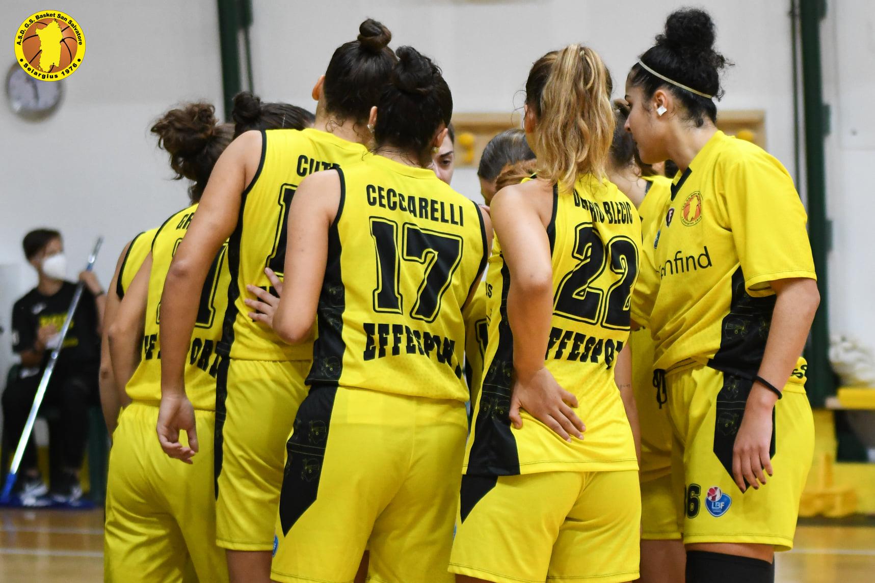 Basket San Salvatore Foto squadra