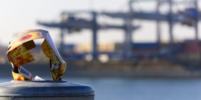 rifiuti nei porti