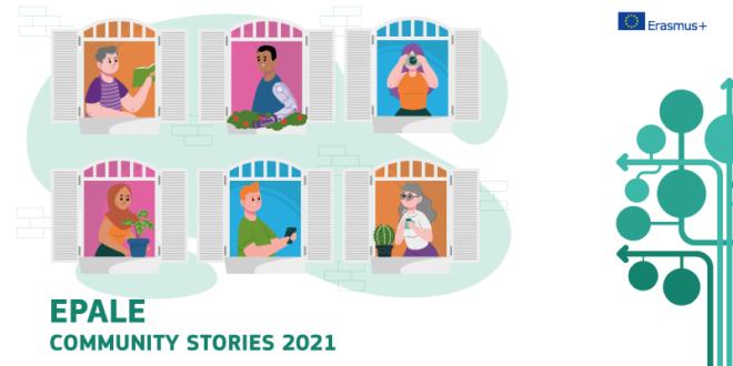 Epale Community Stories 2021: storie dal mondo dell'educazione degli adulti