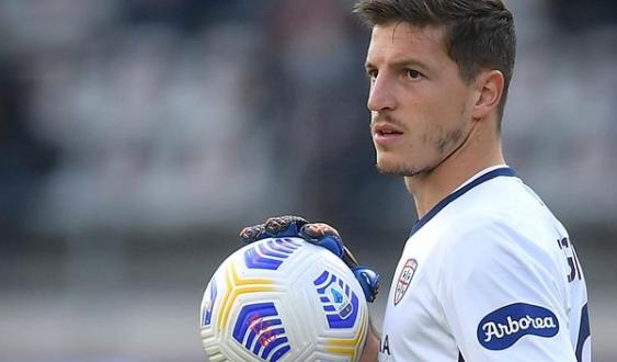 Alessio Cragno portiere Cagliari calcio