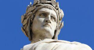 statue of dante alighieri 5535369 1920