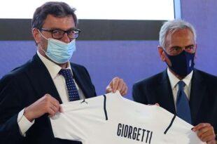 Giorgetti FIGC Anticontraffazione