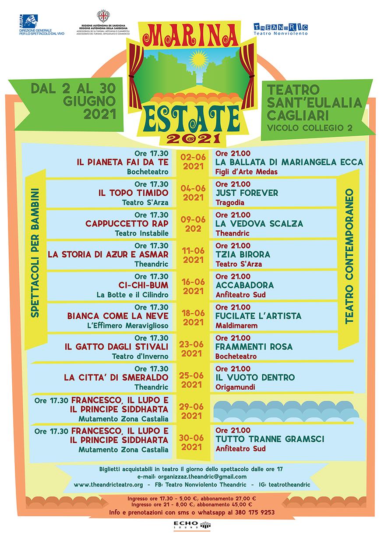 Marina Estate locandina 2021 5