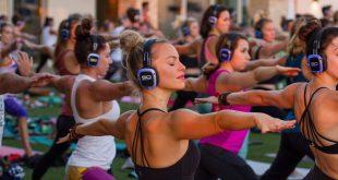 silent yoga, arzachena