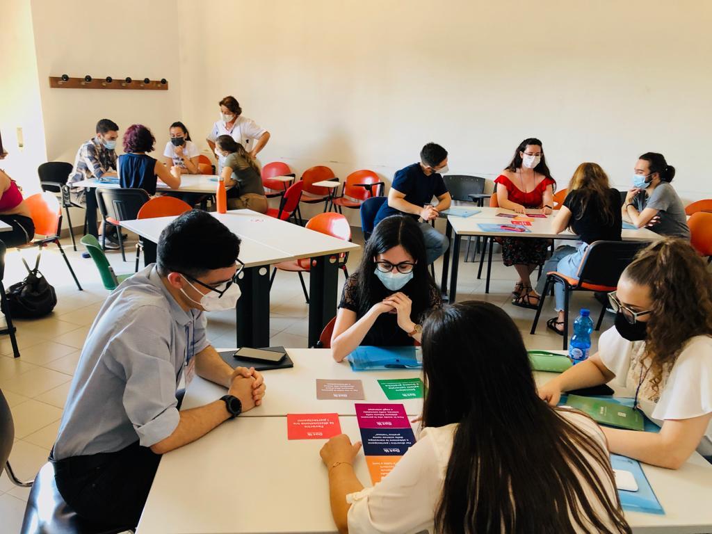 Discussion Children Workshop Laboratorio scienza