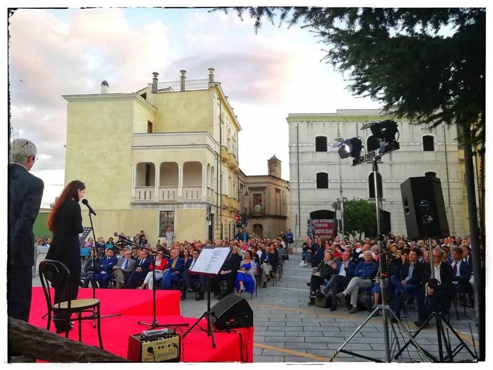 premio dessi 2019 cerimonia premiazioni in piazza municipio